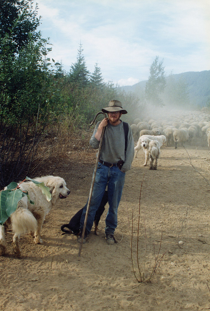 Daniel Loxton as a young shepherd
