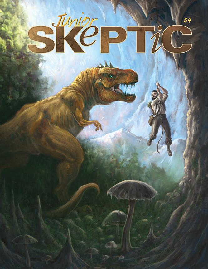 Junior Skeptic 54 cover illustration by Daniel Loxton