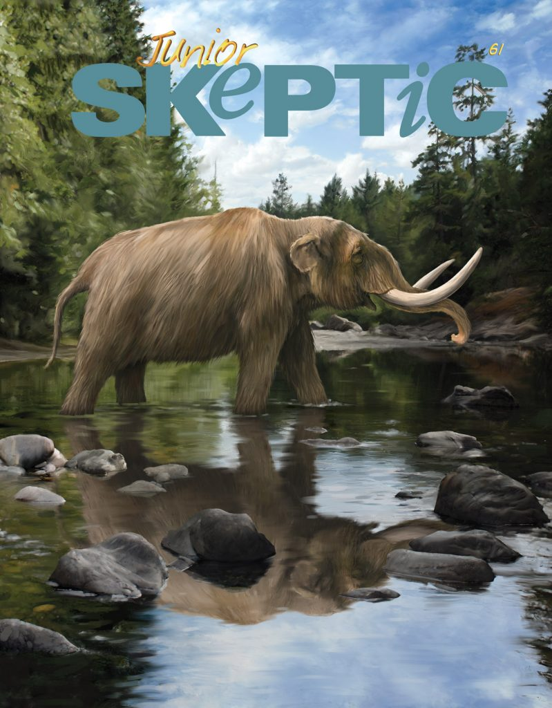 Junior Skeptic 61 cover painting